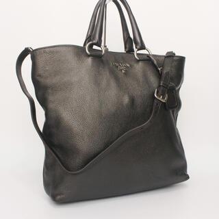 プラダ(PRADA)の【使用僅か】PRADA プラダ ハンドバッグ 2way ショルダーバッグ(ショルダーバッグ)