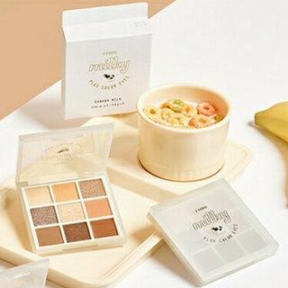 ETUDE HOUSE - 新品【ETUDE HOUSE】アイシャドウ バナナミルク