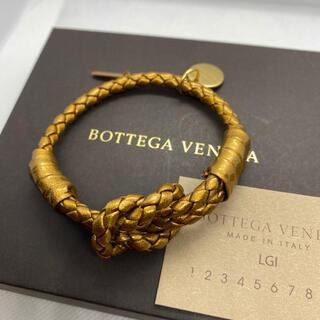 Bottega Veneta - 【未使用】ボッテガ ヴェネタ BOTTEGA VENETA レザーブレスレット