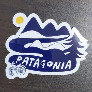 パタゴニア(patagonia)の(縦6.5cm横8.5cm) patagonia 公式ステッカー(その他)