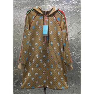 Gucci - GUCCI コラボ グッチ x ドラえもん コットン ドレス