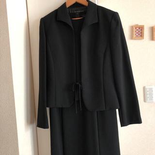 ソワール(SOIR)の美品 ソワール礼服9号 ワンピース、ジャケット2点(礼服/喪服)