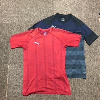 プーマ(PUMA)のPUMATシャツ二枚セット(Tシャツ(半袖/袖なし))