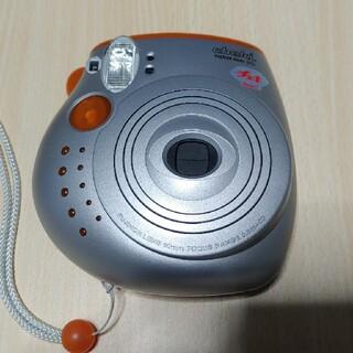 フジフイルム(富士フイルム)のFUJI FILM INSTAX MINI20 オレンジ チェキ(フィルムカメラ)