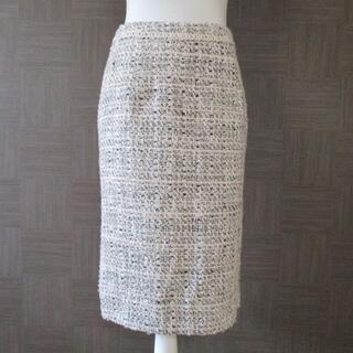 ハナエモリ(HANAE MORI)の新品 ハナエモリ HANAE MORI スカート 38 日本製 秋冬(ひざ丈スカート)