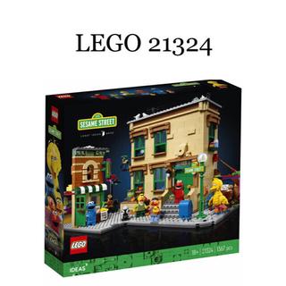 Lego - レゴ (LEGO) アイデア 123 セサミストリート 21324