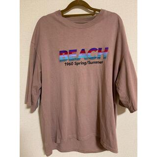 ジエダ(Jieda)のDAIRIKU20ss BEACH Tシャツ(Tシャツ/カットソー(半袖/袖なし))