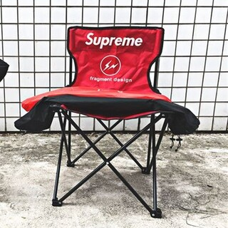 supreme椅子釣り椅子屋外キャンプは折り畳みできます