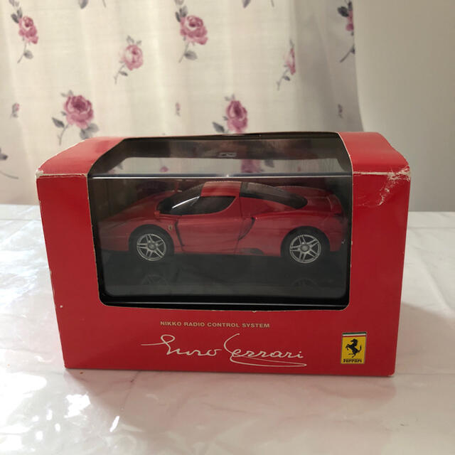 NIKKO(ニッコー)のラジコン フェラーリ 赤 エンタメ/ホビーのおもちゃ/ぬいぐるみ(ホビーラジコン)の商品写真