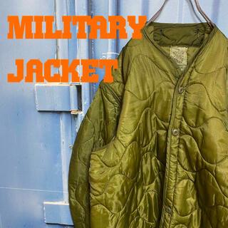 U.S.ARMY M-65 キルティングライナー ミリタリージャケット 米軍実物(ミリタリージャケット)