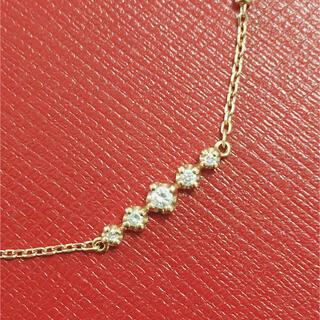 4℃ - ヨンドシー  4°Cブレスレット k18 ダイヤモンドブレスレット 18金