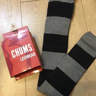 チャムス(CHUMS)のCHUMS レギンス しましまSサイズ(レギンス/スパッツ)