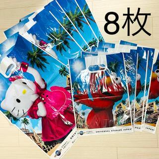 ユニバーサルスタジオジャパン(USJ)のユニバーサルスタジオジャパン ショッピング袋 8枚(ショップ袋)