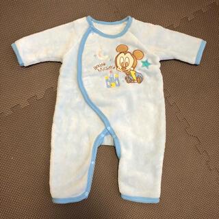 ディズニー(Disney)のロンパース/ベビー服/新生児/50~60cm(ロンパース)