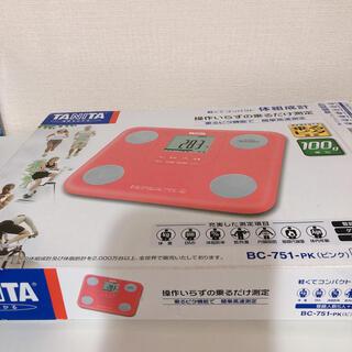 タニタ(TANITA)のタニタ 体重計 体組成計(体重計/体脂肪計)