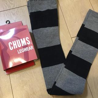 チャムス(CHUMS)のCHUMS レギンス シマシマMサイズ(レギンス/スパッツ)
