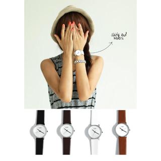 101e10918d ディーホリック(dholic)のシンプルデザインスリムウォッチ(腕時計)