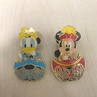 ディズニー(Disney)のミッキー ドナルド ピンバッチ(バッジ/ピンバッジ)