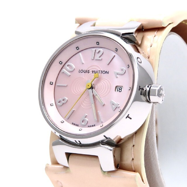 LOUIS VUITTON(ルイヴィトン)の【LOUIS VUITTON】ルイヴィトン 時計 'ピンクシェル' ☆極美品☆ レディースのファッション小物(腕時計)の商品写真