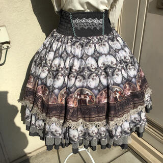 オッズオン(OZZON)のオッズオン リバーシブルスカート(ひざ丈スカート)