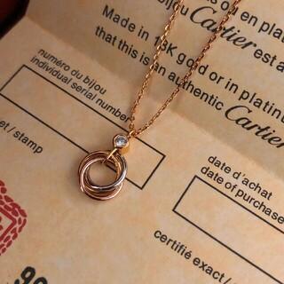Cartier - 新品 Cartier カルティエ トリニティ ネックレス