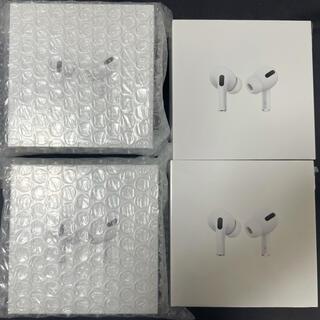 アップル(Apple)のAir pods pro 本体 (MWP22J/A)✖️8 保証開始前(ヘッドフォン/イヤフォン)
