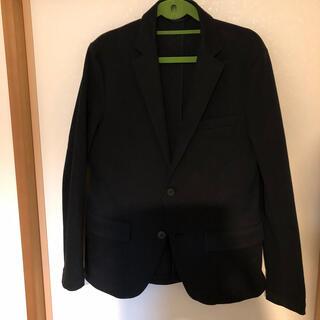 グローバルワーク(GLOBAL WORK)のブラックジャケット Sサイズ(テーラードジャケット)
