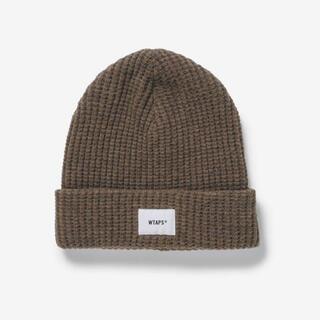 ダブルタップス(W)taps)のwtaps 202 MADT-HT02 beanie 01 wool beige(ニット帽/ビーニー)