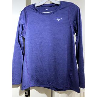 ミズノ(MIZUNO)の【未使用】ミズノ ランニングウェア ランニング長袖Tシャツ  S(ウェア)