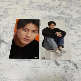 ジャニーズ(Johnny's)のMyojo 1月号 厚紙 キンプリ King&Prince 平野紫耀     (アイドルグッズ)