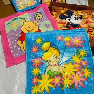 ディズニー(Disney)のミニタオル 3枚セット ディズニー(タオル)