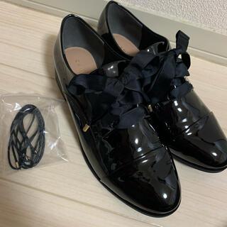 ランダ(RANDA)のRANDA 2WAYレースアップレインシューズ ローファー(ローファー/革靴)