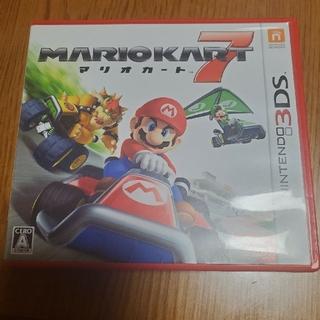 ニンテンドー3DS - パッケージ付き!マリオカート7 3DS 美品
