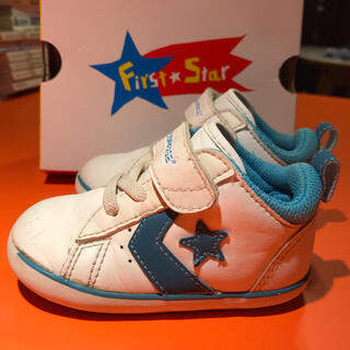 コンバース(CONVERSE)のコンバース 13.0cm first star スニーカー 子供靴(スニーカー)