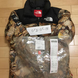 S 16aw the north face nuptse 枯葉 ヌプシ