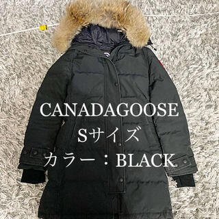 カナダグース(CANADA GOOSE)のカナダグース SHELBURNEPARKAFUSIONFIT SサイズBlack(ダウンジャケット)