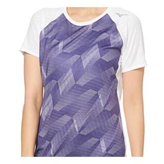 ミズノ(MIZUNO)の【未使用】ミズノ ランニングウェア ランニングTシャツ ホワイト(ウェア)