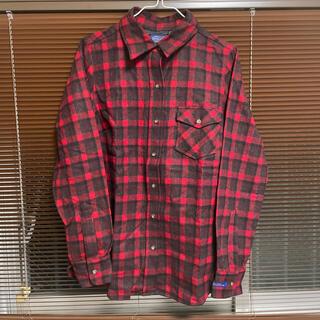 ペンドルトン(PENDLETON)のPENDLETON ウールチェックシャツ Mサイズ(シャツ)