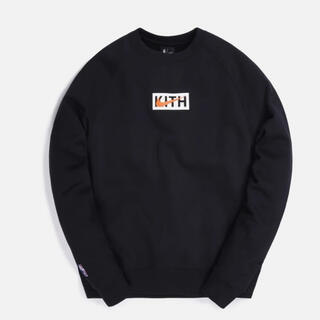 NIKE - KITH & NIKE NY KNICKS FLEECE CREWNECK