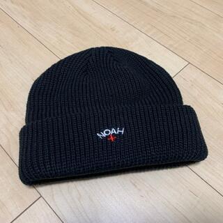 シュプリーム(Supreme)のNOAH ニット帽 黒  ノア(ニット帽/ビーニー)