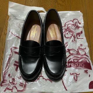 ハルタ(HARUTA)のハーバー HARVAR 通学用ローファー 24.5(ローファー/革靴)