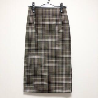 スコットクラブ(SCOT CLUB)の新品タグ付☆スコットクラブ☆チェックスカート ロングスカート(ロングスカート)