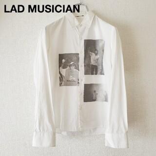 LAD MUSICIAN - LAD MUSICIAN×Dennis Morris デニスモリス 白シャツ