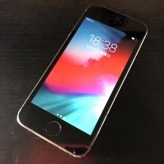 アイフォーン(iPhone)の【格安】 iPhone 5s Space Gray 16 GB(スマートフォン本体)