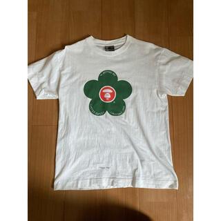 アベイシングエイプ(A BATHING APE)のA BATHING APE Tシャツ Mサイズ BAPE APE エイプ(Tシャツ/カットソー(半袖/袖なし))