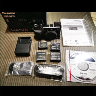 Panasonic - Panasonic LUMIX DMC-GX7 ブラック