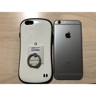 ソフトバンク(Softbank)のiPhone6 本体 スペースグレー 64G(スマートフォン本体)