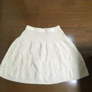 マークバイマークジェイコブス(MARC BY MARC JACOBS)のニットフレアスカート(ひざ丈スカート)