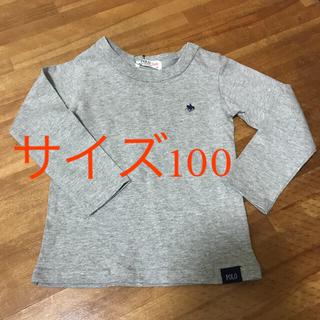 シマムラ(しまむら)の綿100%  ロンT     100センチ  新品(Tシャツ/カットソー)