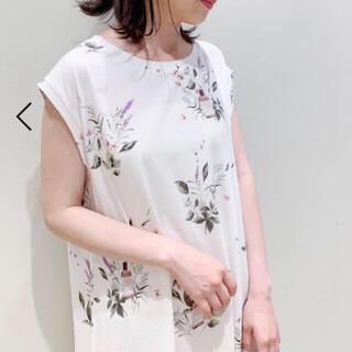 gelato pique - 定価以下⭐新品♡HAPPY OILモチーフドレス♡オフホワイト